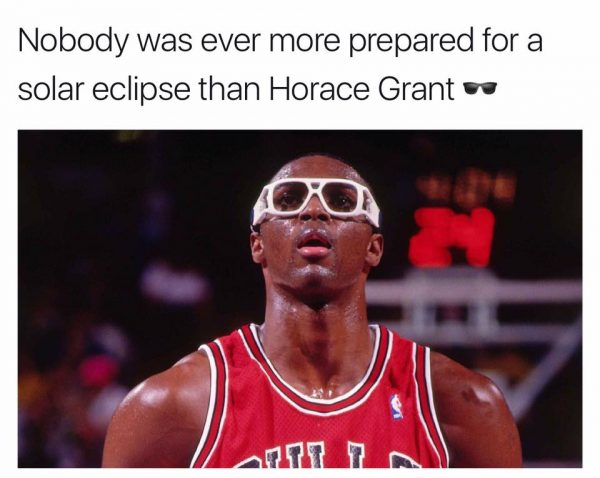 Horace Grant ready for the Eclipse