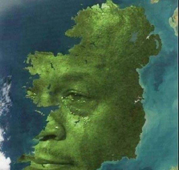 Ireland Crying Jordan