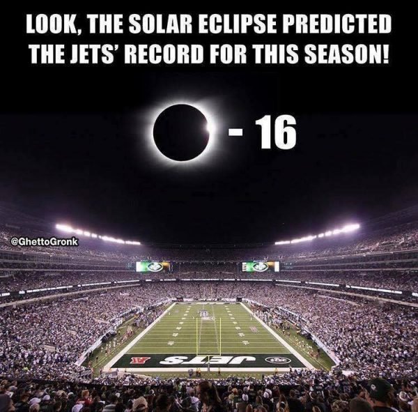 Jets Eclipse Record