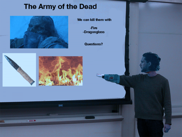 Jon Snow presentation