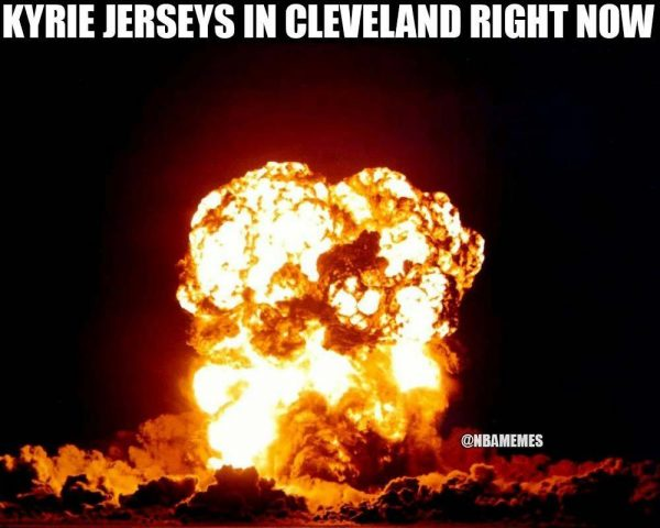 Kyrie Jerseys lighting up