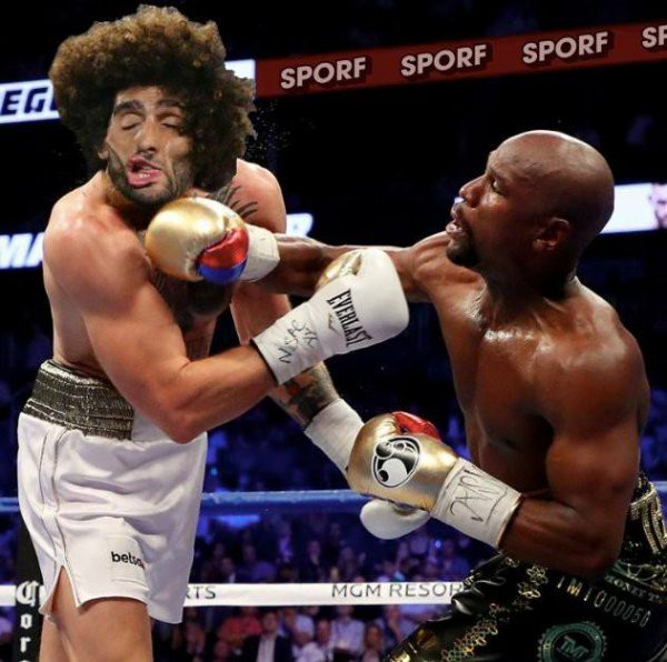Mayweather knockout Fellaini