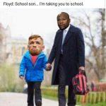 Mayweather schooling McGregor