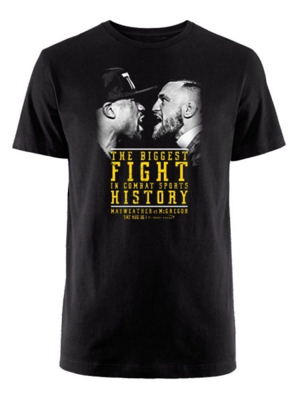 Mayweather vs McGregor Black T-Shirt