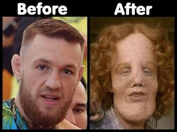 McGregor Before & After