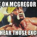 McGregor Fans excuses