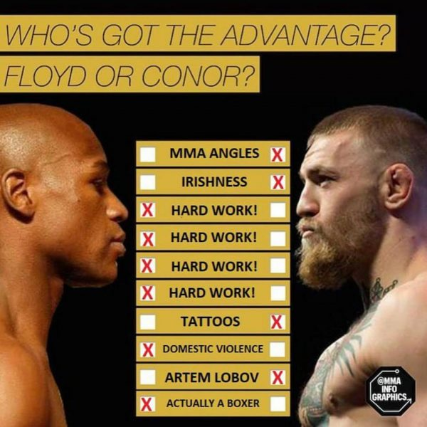 Top excuses for Conor Fans