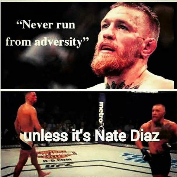 McGregor Never Runs