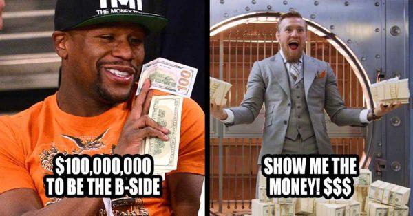 McGregor Show me the Money