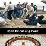 Men Discussing FMJ vs McGregor