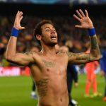 Neymar No Shirt