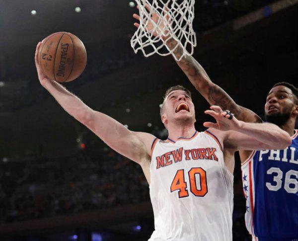 Plumlee Knicks