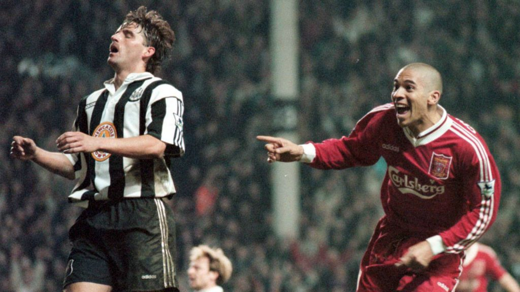 Stan Collymore Liverpool Newcastle 4-3