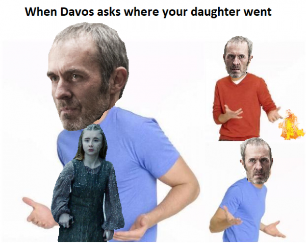 Stannis burnt Shireen