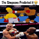 The Simpsons predicted it