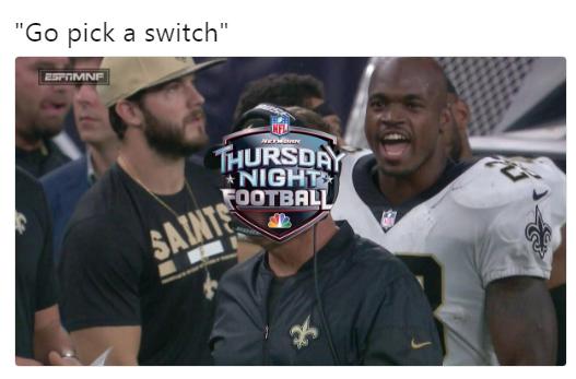 Adrian Peterson Thursday Night Football