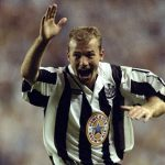Alan Shearer of Newcastle United