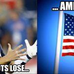 American wins