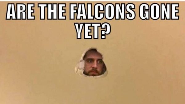 Are the Falcons gone yet