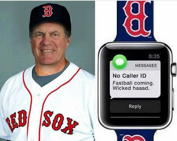 Belichick Apple Watch Cheating