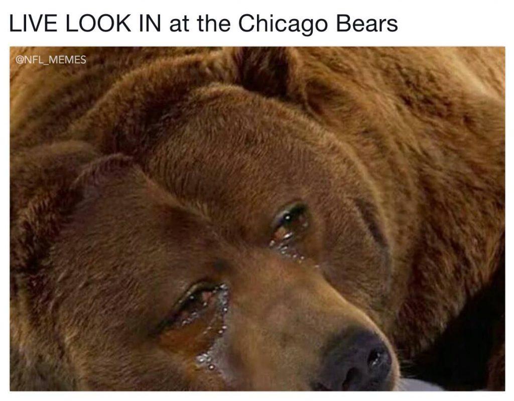 Crying Jordan Bear