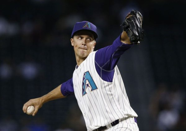 Diamondbacks beat Dodgers Greinke