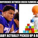 Ereck Flowers Sucks