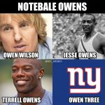 Giants Owen Three