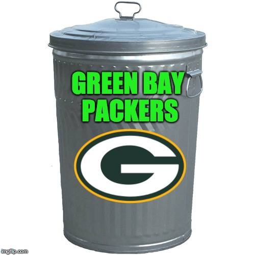 Green Bay Packers Trash