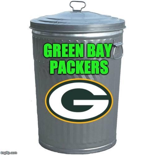 Green Bay Packers Trash