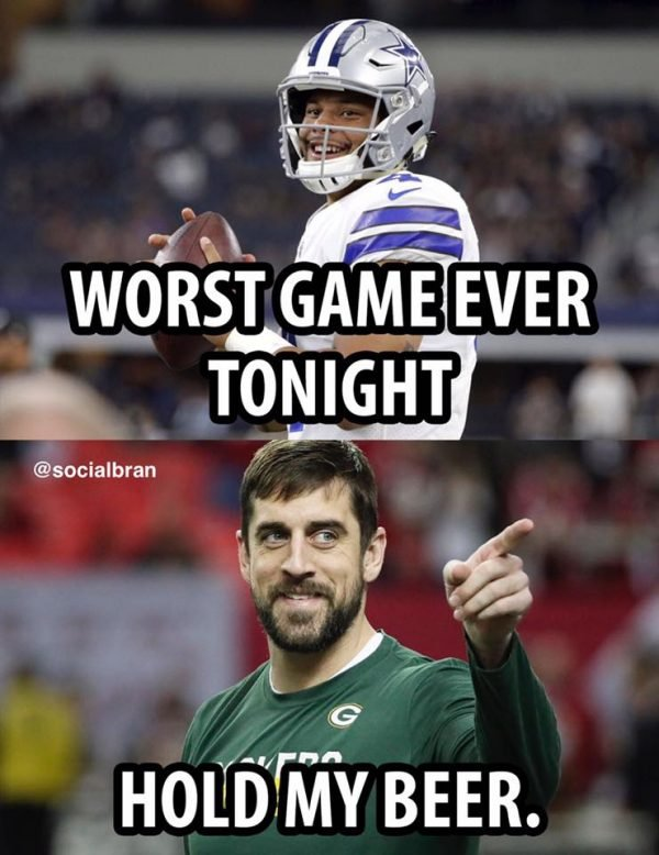 Aaron Rodgers Unprotected