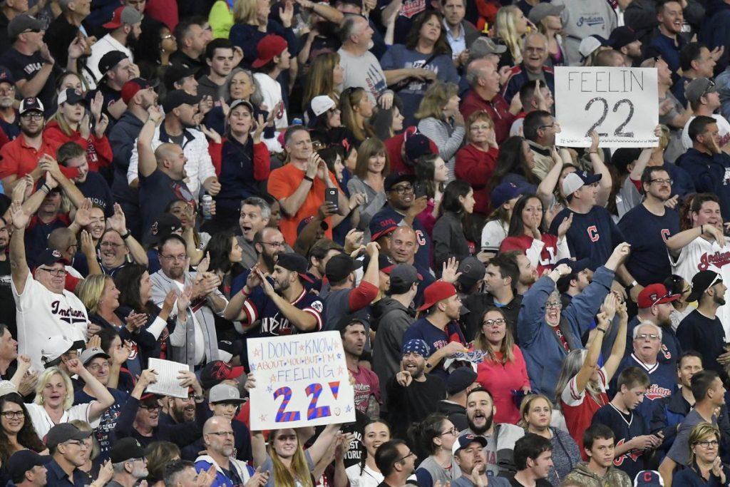 Indians Fans 22 Wins