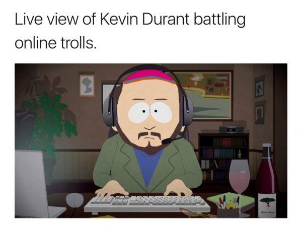 Kevin Durant Twitter Meme