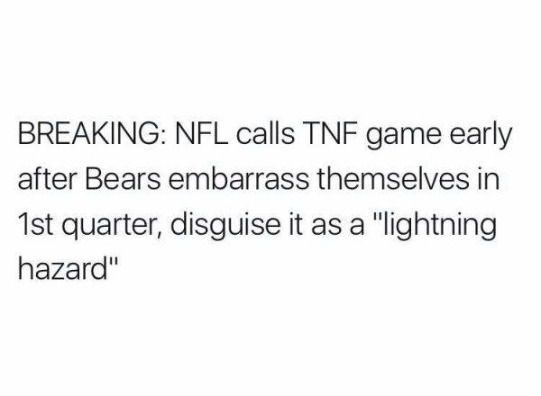 Lightning Hazard