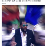 Ray Lewis taking a knee