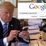 Roger Goodell Googling