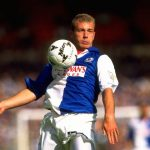 Alan Shearer of Blackburn Rovers