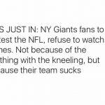 The Giants Suck