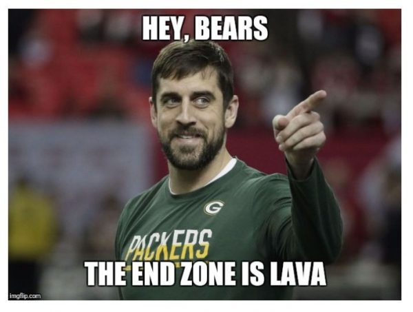 Rodgers hunting Bears