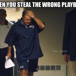 Wrong playbook