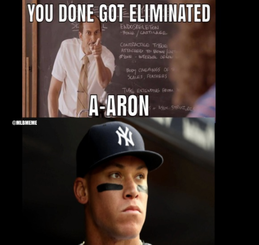 A-Aron Got Eliminated