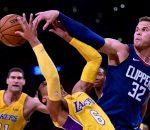 Blake Griffin Blocks Jordan Clarkson