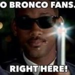 Broncos Fans want to forget