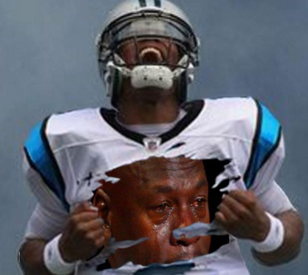 Cam Newton Crying Jordan