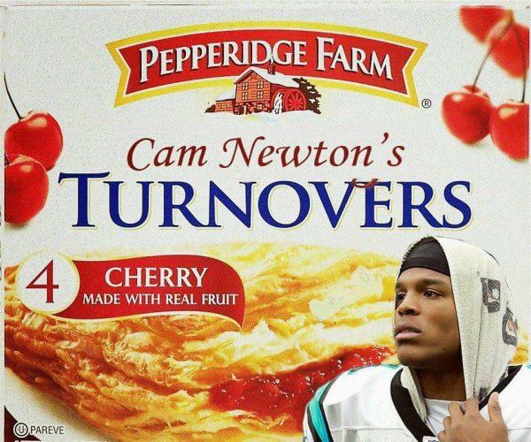 Cam Newton's Turnovers