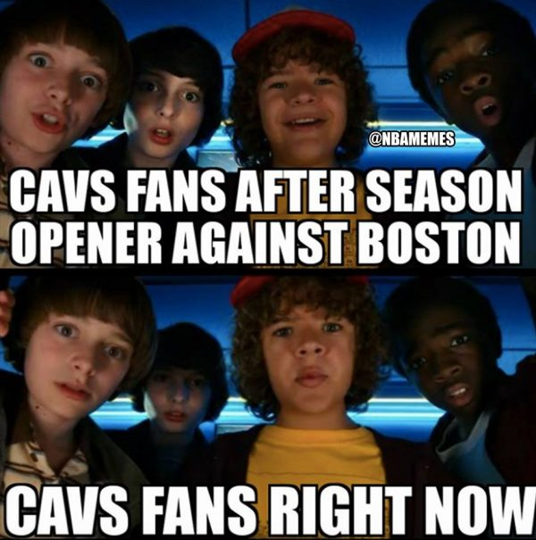 Cavs Stranger Things