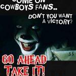 Cowboys Fans IT Clown