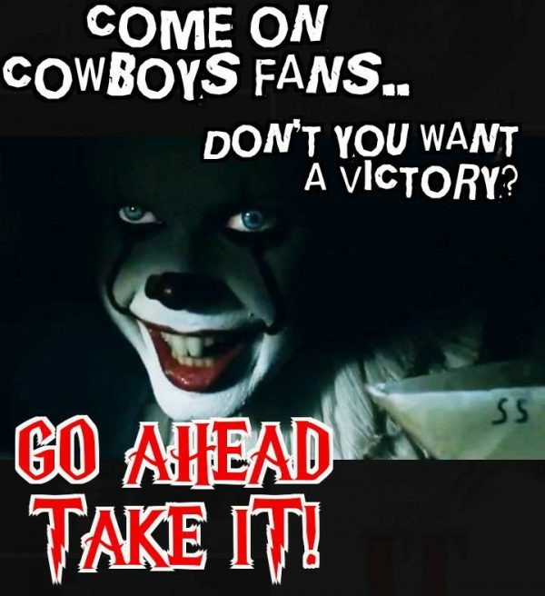 Cowboys Fans IT Clown