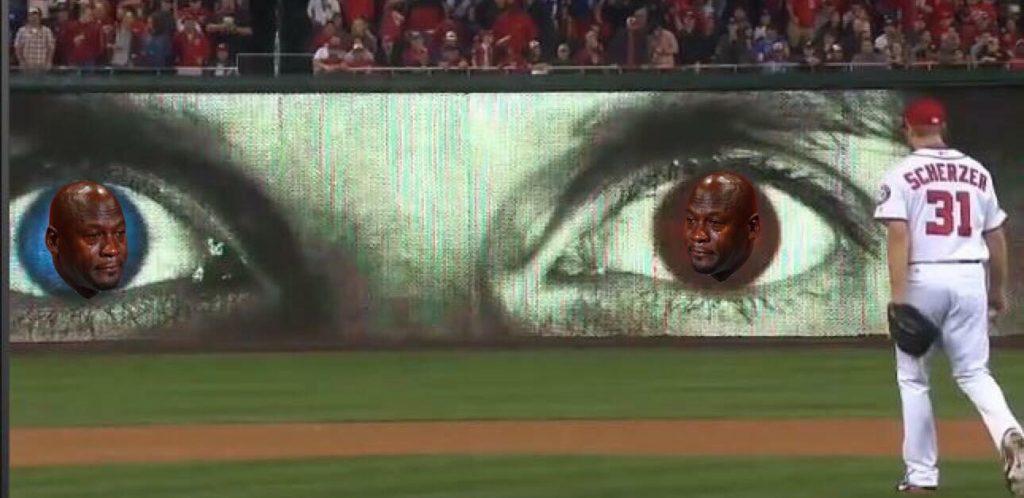 Crying Jordan Eyes
