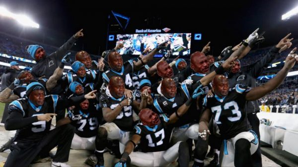 Crying Jordan Panthers Dab